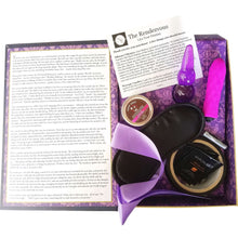 The Rendezvous Fantasy Novel w/Vibrator Bondage Tape Massage Candle Blindfold and MORE