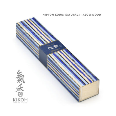 Nippon Kodo Kayuragi Incense - Aloeswood package
