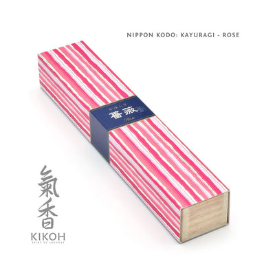 Nippon Kodo Kayuragi Incense - Rose package