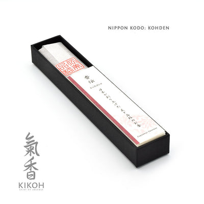 Nippon Kodo Kohden Incense  package inside