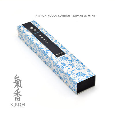 Nippon Kodo Kohden Incense - Japanese Mint package
