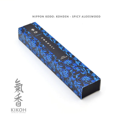 Nippon Kodo Kohden Incense - Spicy Aloeswood package