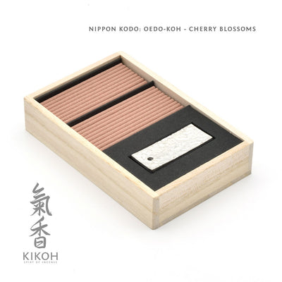 Nippon Kodo Oedo-koh - Cherry Blossoms package inside