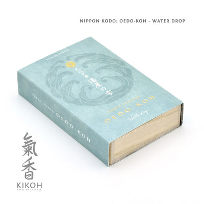 Nippon Kodo Oedo-koh Incense - Water Drop package front