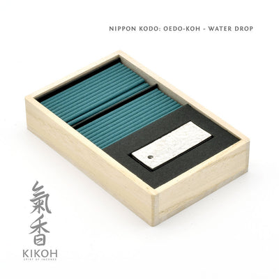 Nippon Kodo Oedo-koh Incense - Water Drop package inside