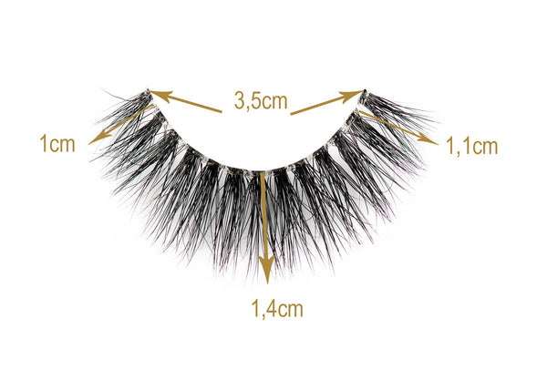Lou Laroon Lashes Sizes