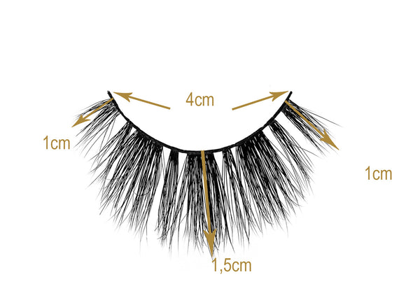 Lou Laroon Milan Lashes Sizes