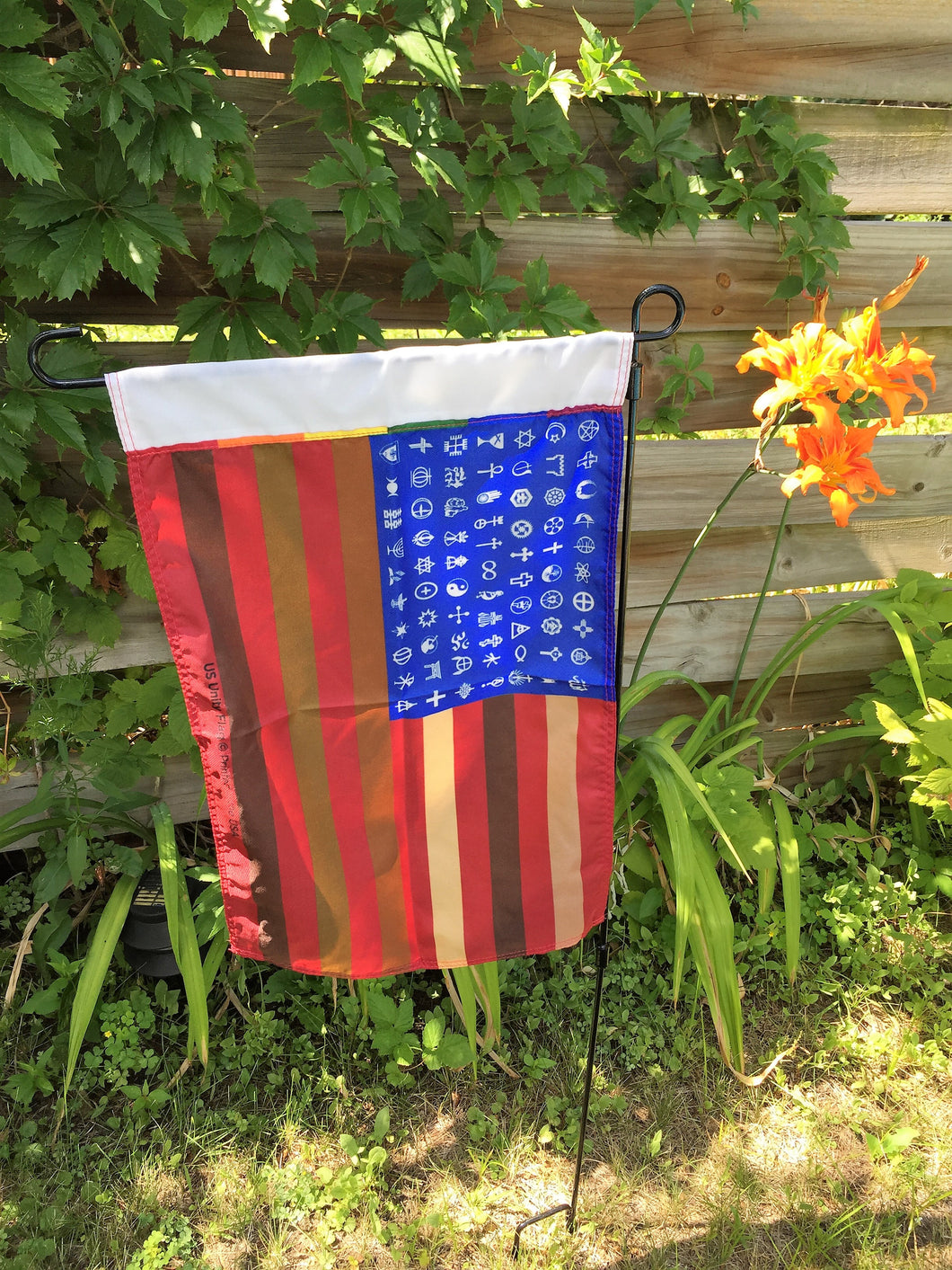 Garden Flag - without or with stand ($9.95 - 17.95)
