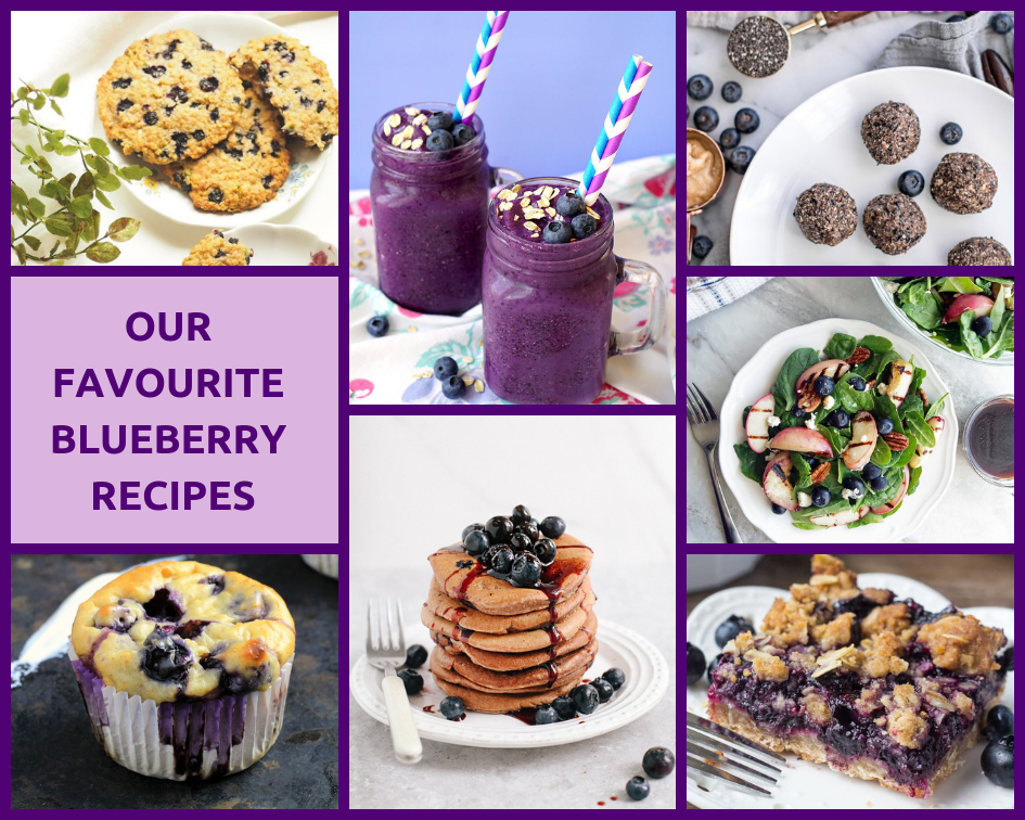 Our Favourite Blueberry Recipes