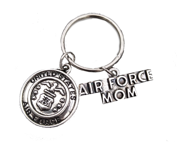 Air Force Mom Keychain