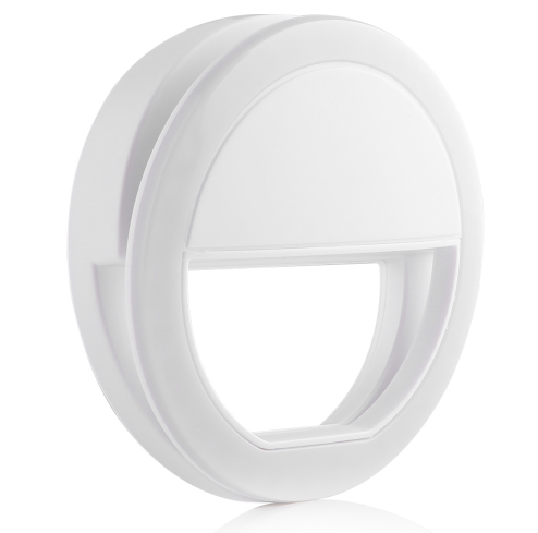 Rechargeable Clip On Selfie Ring LED Light