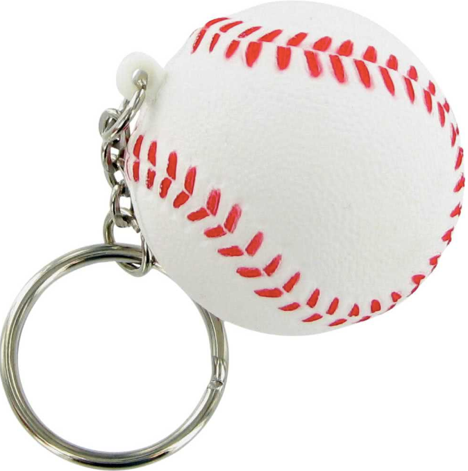 1, 6 or 12 Pcs Baseball Ball Keychain