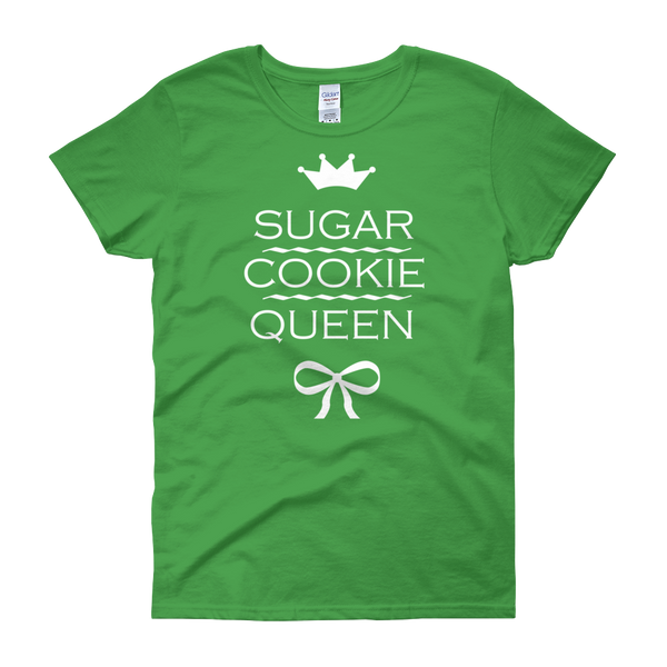 Cookie Queen Christmas Womens Tee