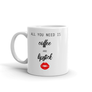 Lipstick & Coffee Mug