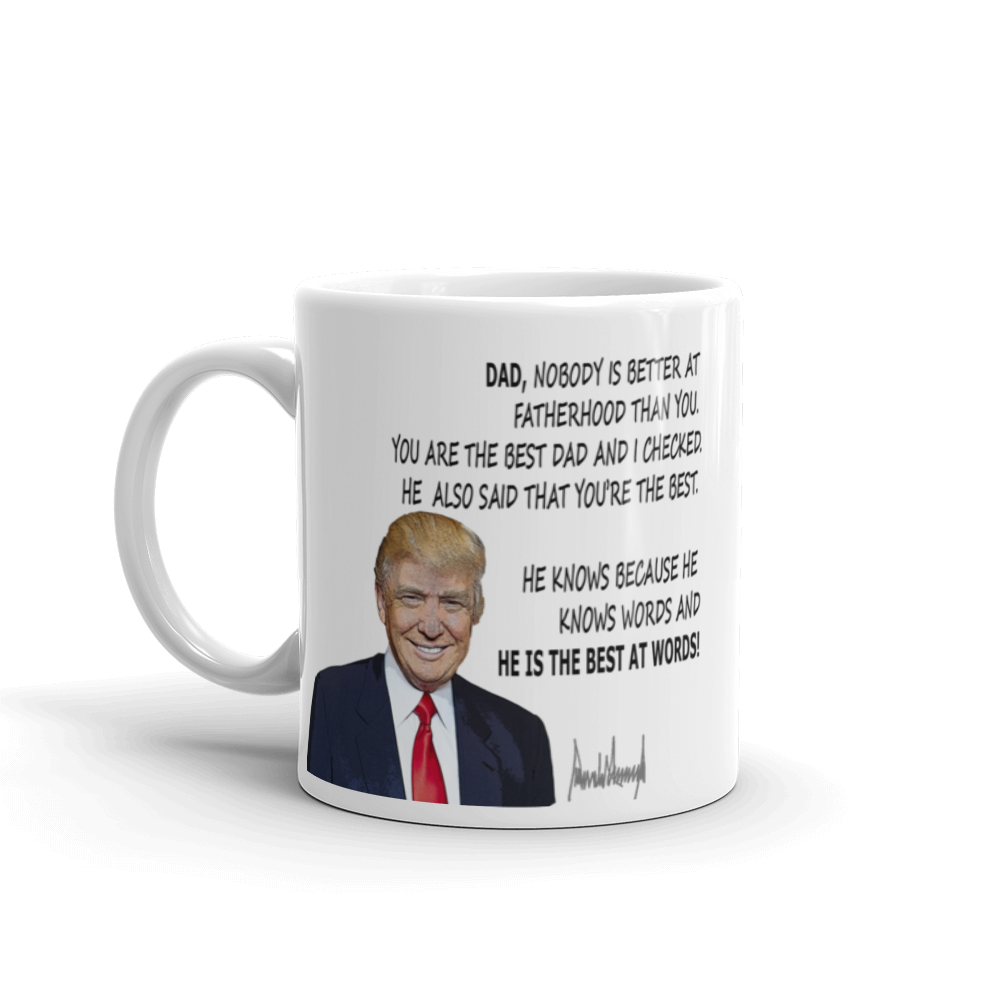 Donald Trump Mug - Fatherhood