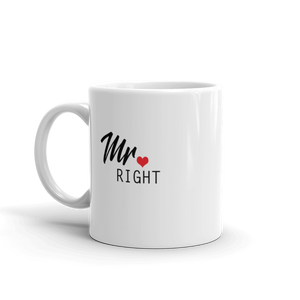Mr Right Mug