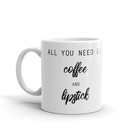 Coffee & Lipstick Mug