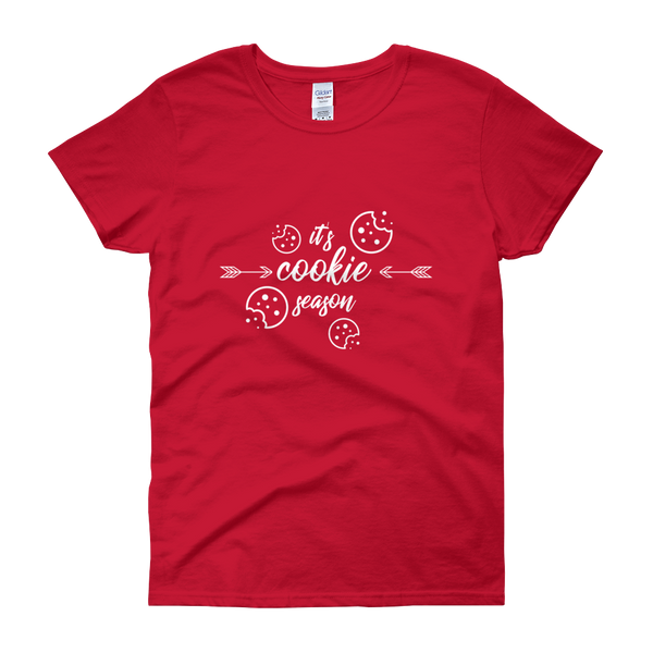 Cookie Seas'n Christmas Womens Tee
