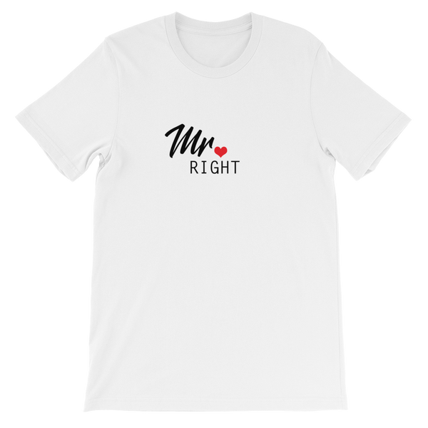 Mr Right Men's Tee