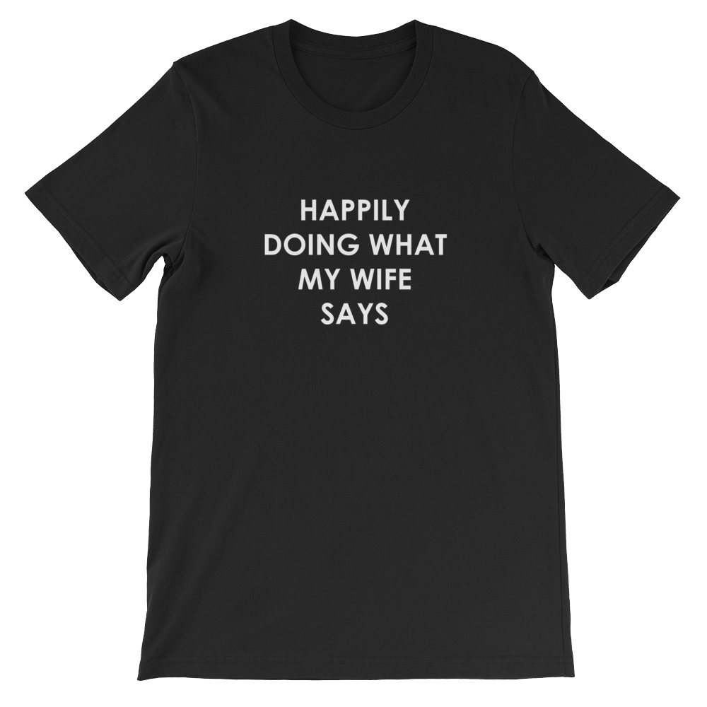 Happily Doing Men's Tee