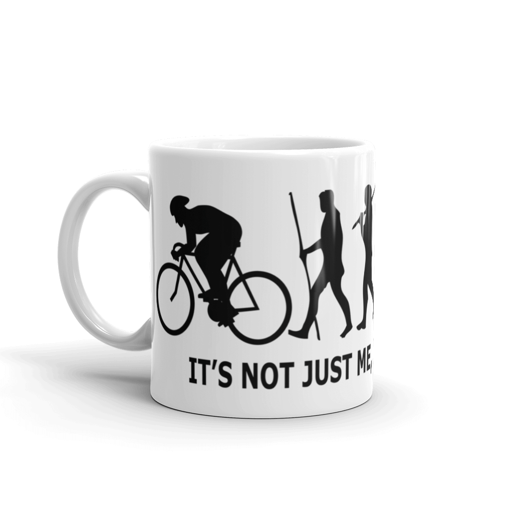 Cyclist's Evolution Mug