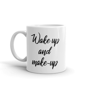Wake-up & Make-up Mug