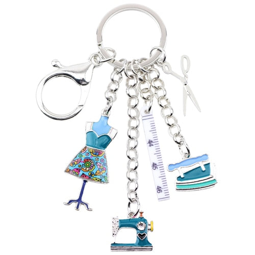Fashion Designer's Keychain
