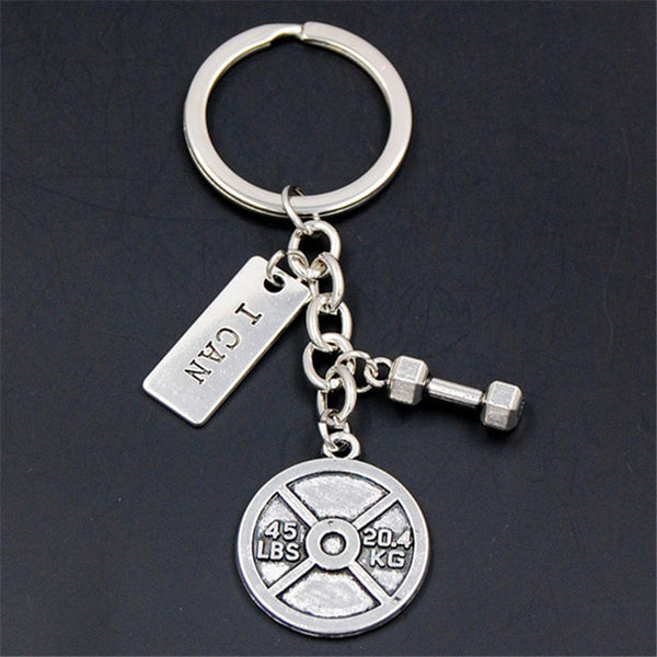 Gym Motivation Keychain