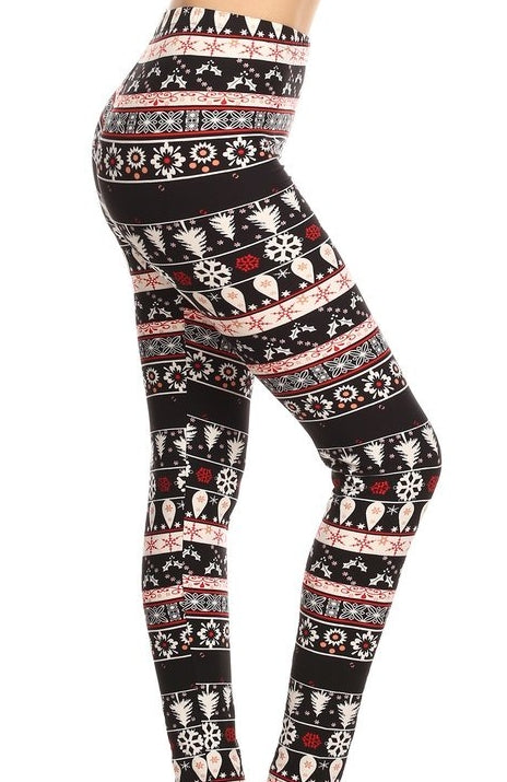 """Alpine Lodge"" Leggings"