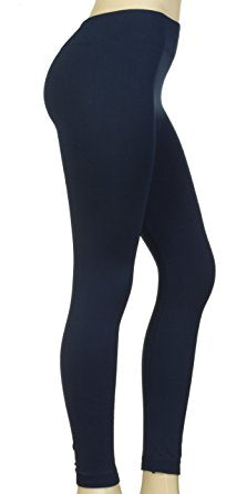 """Basic Navy"" Honey Butter Leggings"