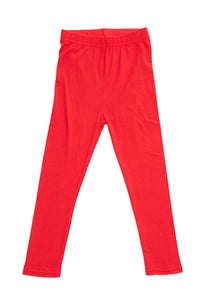 """Basic Red"" Youth Leggings"