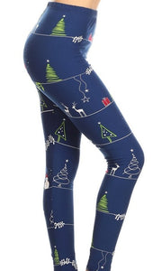 """Silent Night"" Leggings"