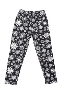"""Whiteout"" Youth Leggings"