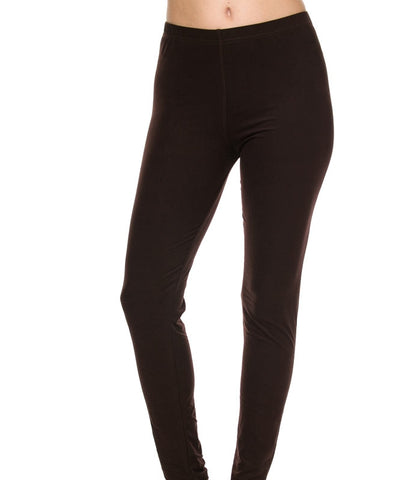 """Basic Brown"" Leggings"