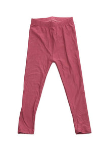 """Basic Mulberry"" Youth Leggings"