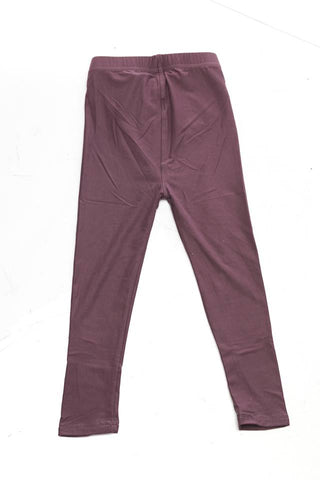 """Basic Violet"" Youth Leggings"