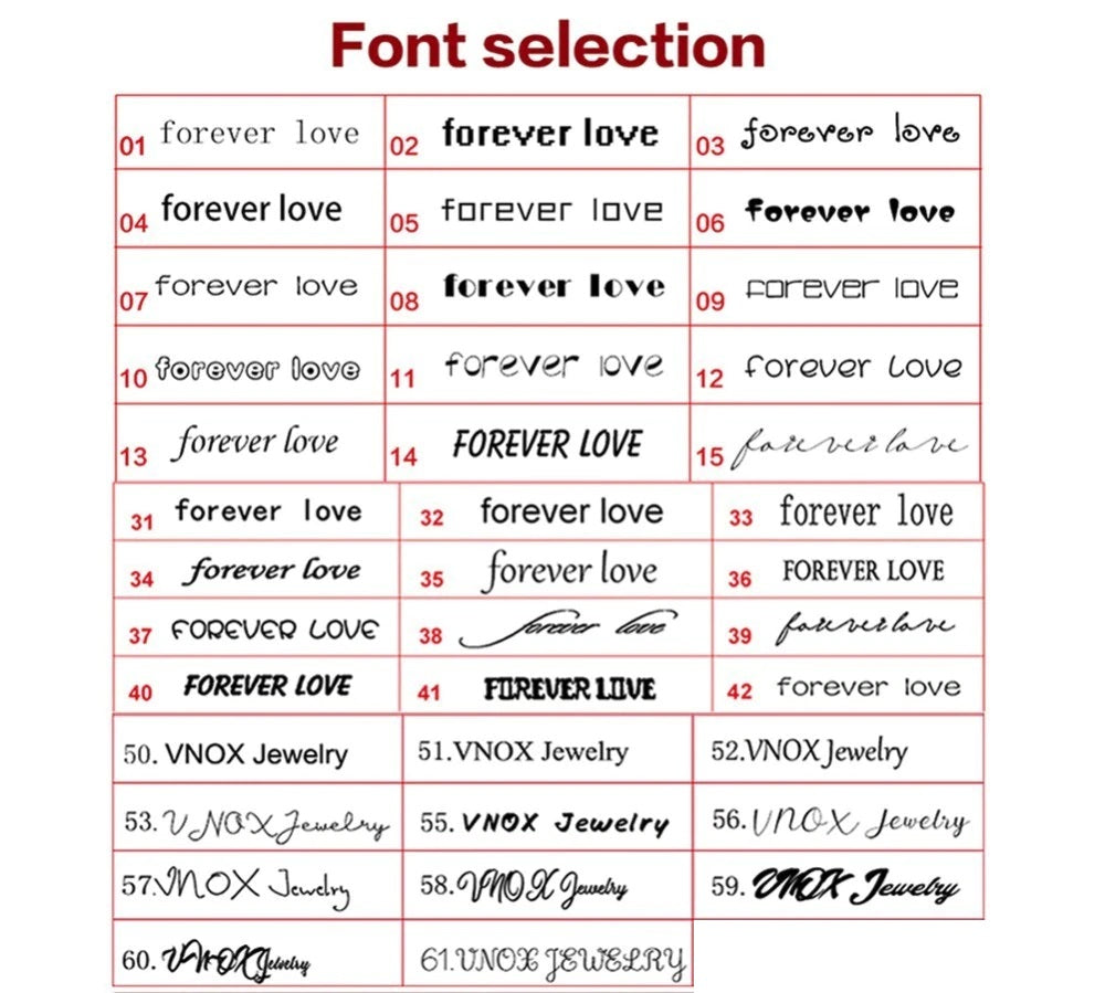 Custom Rainbow Ring - 2019 Collection - Fonts