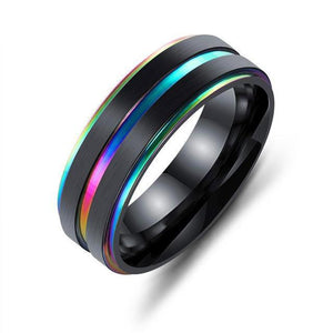 Black & Rainbow Ring - Collection 2018