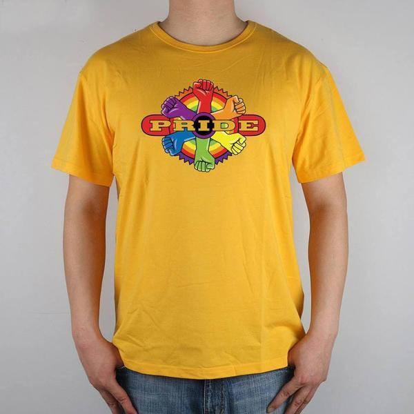 Gay Rainbow T-shirt - LGBT Gay And Lesbian Pride