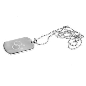 Gay Symbols Dog Tag - gaypridehub