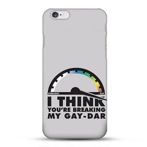 Gaydar LGBT Phone Case - iPhone Plus 6 - gaypridehub