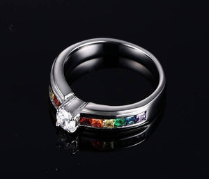 Crystal Ring - 2017 Collection - gaypridehub