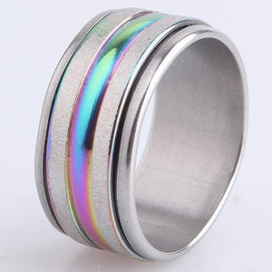 Cute Silver Ring - gaypridehub
