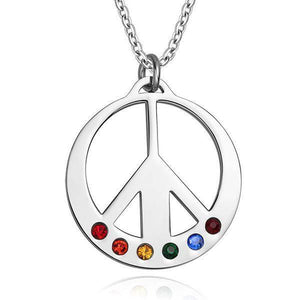 LGBT Necklace - Lesbian Pendant Gay Necklaces - gaypridehub