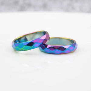 Stylish Rainbow Ring - gaypridehub