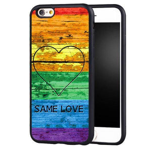 LGBT Same Love  iPhone Case - gaypridehub