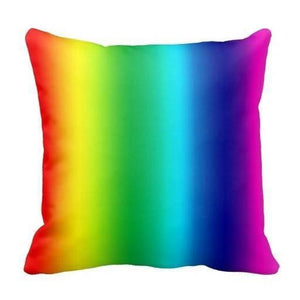 Lgbt Rainbow Pillow Cover - Gay and Lesbian Pride - gaypridehub