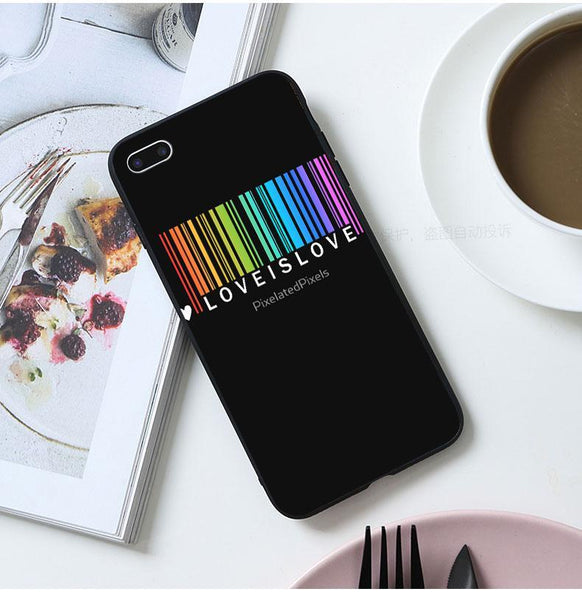 LGBT Love is Love iPhone Case - gaypridehub