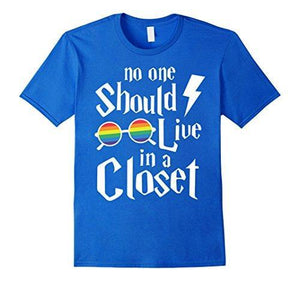 No One Should Live In a Closet - Gay Pride Top - gaypridehub