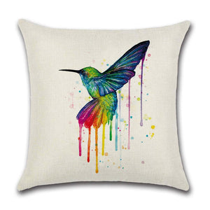 Rainbow Bird Pillow Case - gaypridehub